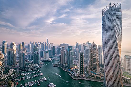 Woman in Dubai